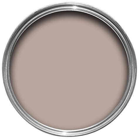 B And Q Touch L by Colours Standard Chocolate Milkshake Flat Emulsion Paint 2
