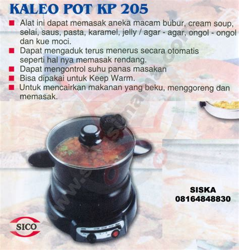 Signora Electric Grill solusi kaleo pot
