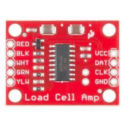 Load Cell Lifier Hx711 load cell lifier hx711 breakout hookup guide learn sparkfun