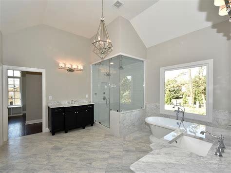 vaulted ceiling bathroom vaulted bathroom bathroom with beige tiles what color