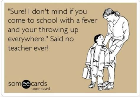 Sick Child Meme - is it ever ok to send your sick child to school yes says