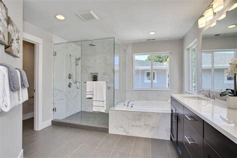 contemporary master bathroom with rain shower daltile contemporary master bathroom with daltile volume 1 0