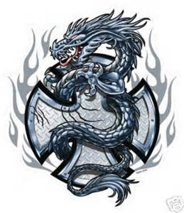 indiana tattoos cross dragon tattoo pictures