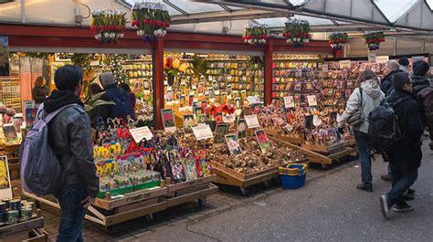 bloemenmarkt flower market singel  muntplein