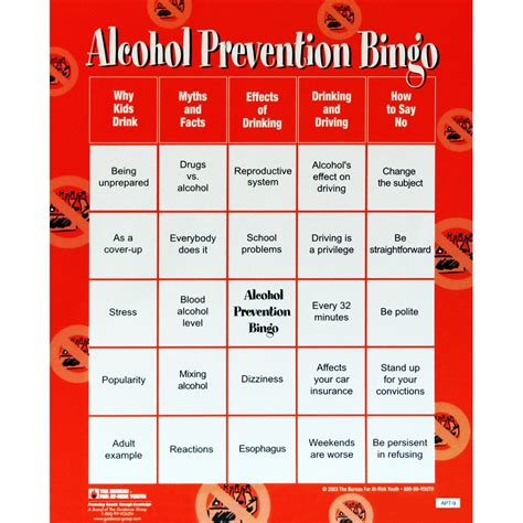 printable drinking games for adults the bureau for at risk youth topic drug alcohol