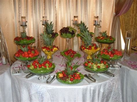 fruit table for wedding reception fruit display ideas for weddings indian wedding