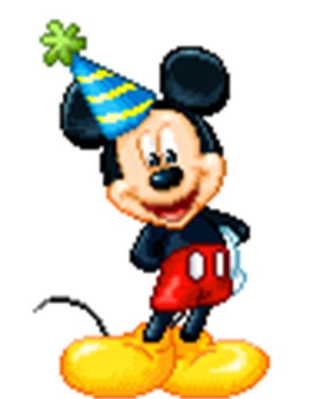imagenes de cumpleaños gif gif mickey vestido para fiesta de cumplea 241 os gifs e