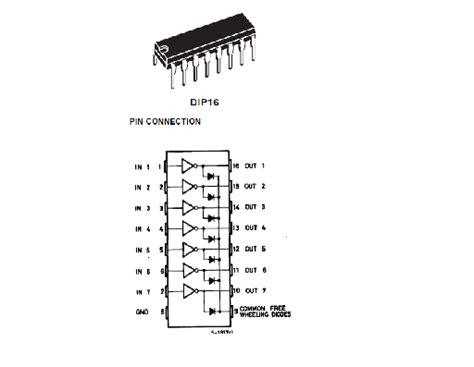 bentuk transistor driver litar projek elektronik litar pemacu transistor led relay motor
