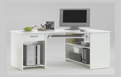 Small White Corner Computer Desk by Design Trends Categories Scary Diy