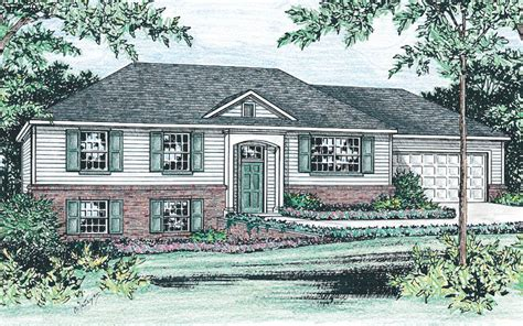 raised ranch home plan studio design gallery best