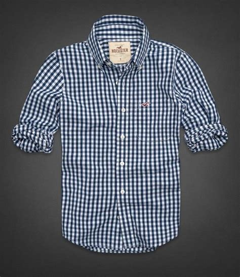 2014 hollister by abercrombie plaids check shirt