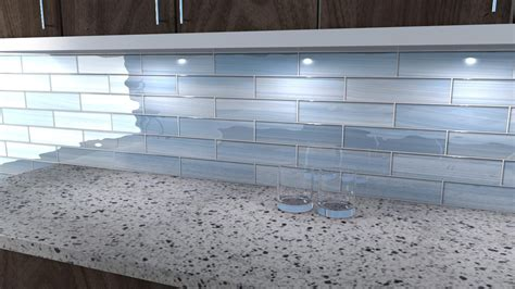 blue glass tile backsplash saura v dutt stones