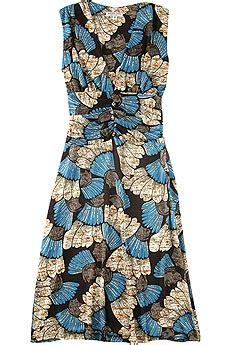 Nieves Lavi Florence Print Dress by Nieves Lavi Womens Fashion