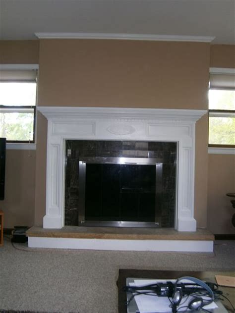 Refacing Brick Fireplace by Fireplace Refacing New Home Inspiration