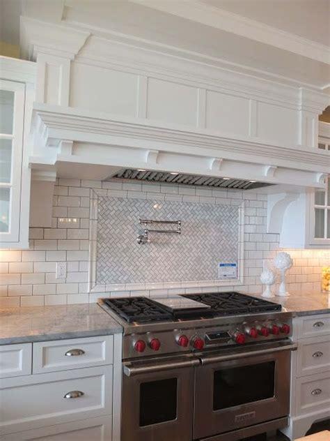 great backsplash subway tile simple hood and herringbone 17 best ideas about stove backsplash on pinterest white