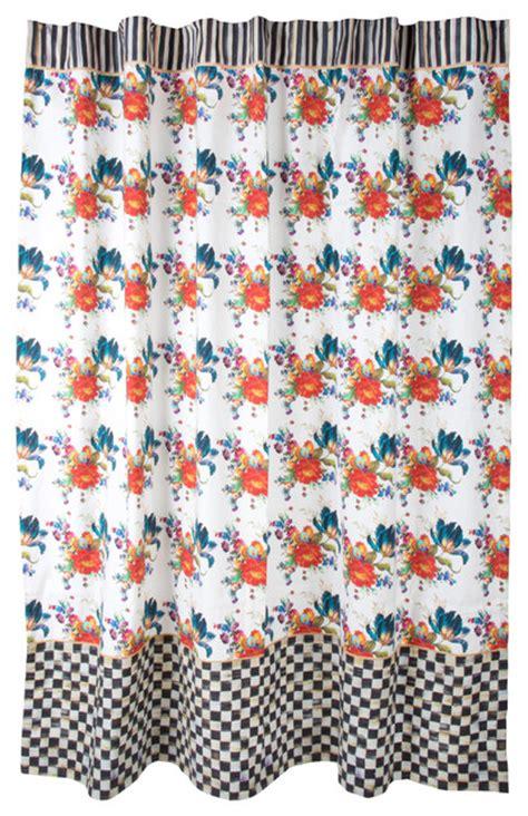 mackenzie childs curtains flower market shower curtain mackenzie childs eclectic