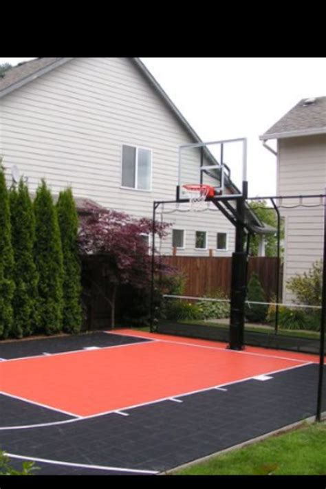 home basketball court new house ideas
