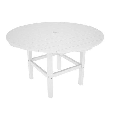 kid white 38 inch dining table polywood 174 dining tables