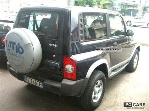ssangyong korando 1999 1999 ssangyong korando 662 2 9 turbo diesel elx car