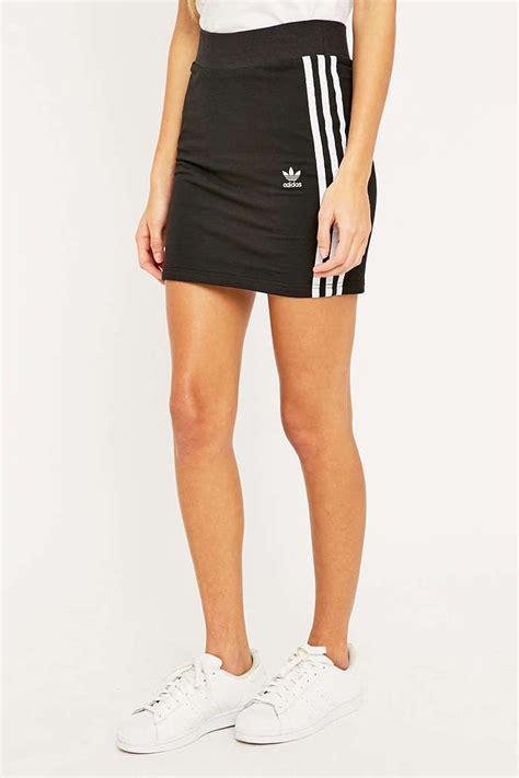adidas three stripe black mini skirt mini skirts uutfitters and adidas