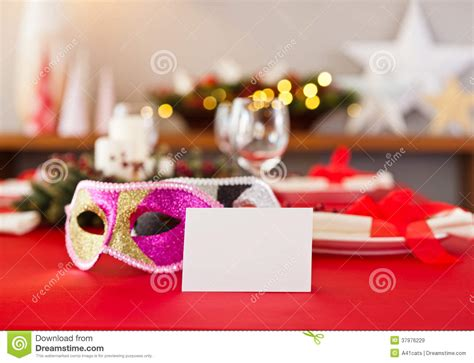 new year dinner name new years dinner table setting royalty free stock images