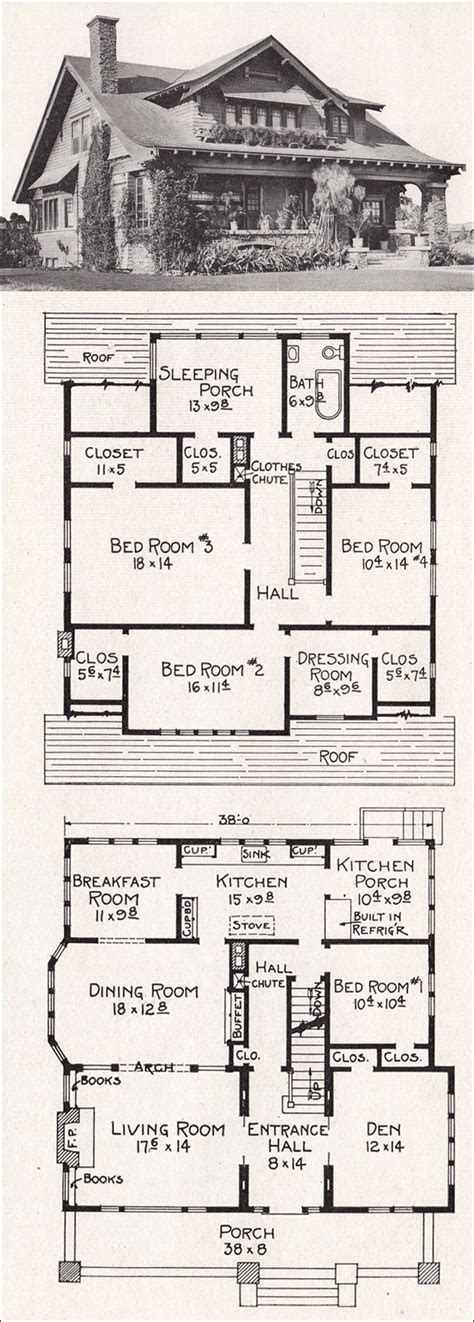large california bungalow craftsman style home plan