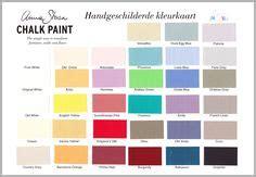 chalk paint kleuren sloan krijtverf handleiding door jayne the
