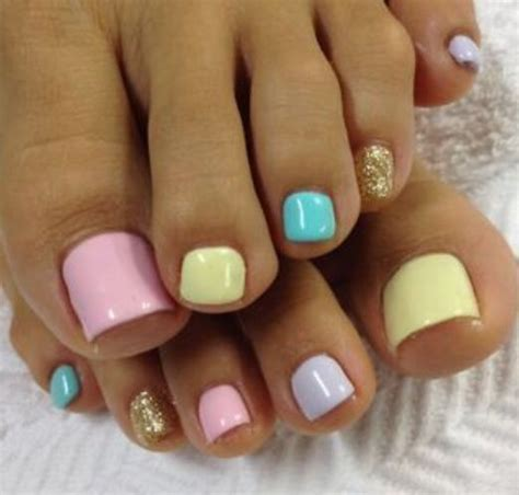 imagenes de uñas gelish decoradas nails pies decorados colores pastel gelish gelish