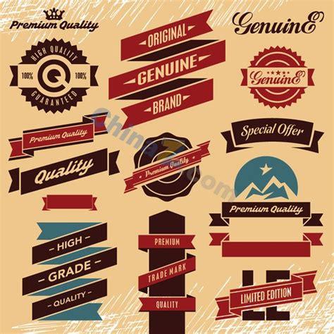 label design templates vector vintage promotional label vector design template over