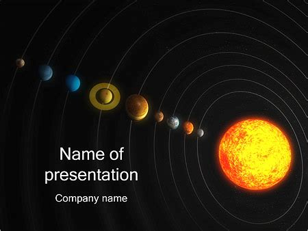 Powerpoint Templates Free Download Solar System Images Powerpoint Template And Layout Solar System Powerpoint Template
