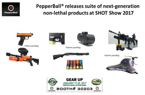 pepperball 174 releases suite of next generation non lethal