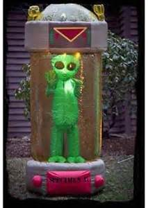 halloween alien decorations inflatable airblown halloween yard decoration 7 ft tall