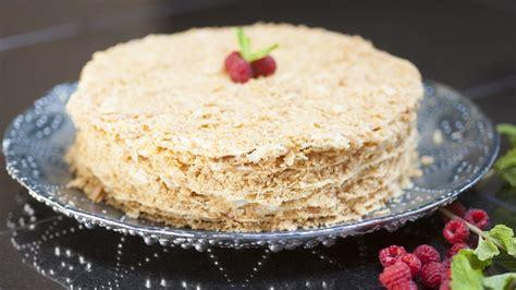 napoleon kuchen russisch rezept russische napoleon torte selber backen