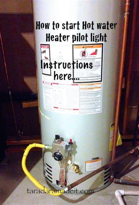 water heater pilot light diy your water heater pilot light just might go out