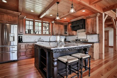 mountain home kitchen design mountain home mt traditional kitchen boston by timberpeg