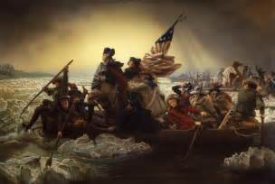 huttohistory george washington crossing the delaware river