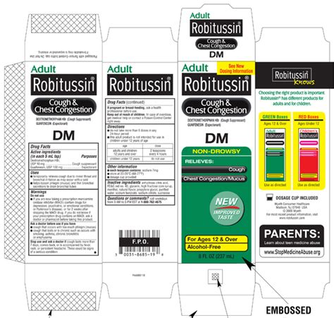 robitussin dm for dogs image gallery robitussin d