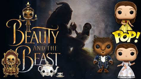 Funko Pop Disney And The Beast 2017 Lumiere duclos toys figures collectibles toys 187