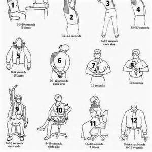 health and inspiration 10 ways to exercise while sitting