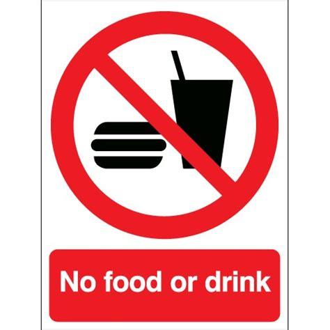 no food or drink rigid plastic or vinyl no food or drink signs safetyshop