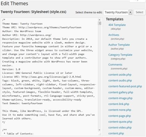 editor theme on wordpress how to add adsense to wordpress