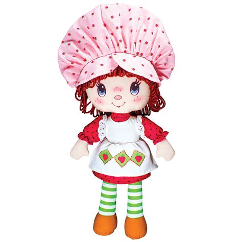 rag doll tab new strawberry shortcake stuffed rag doll classic sweet