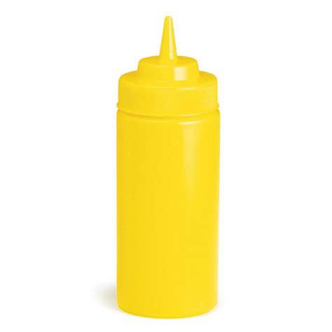 Sauce Bottle yellow squeeze sauce mustard bottle 8oz at drinkstuff