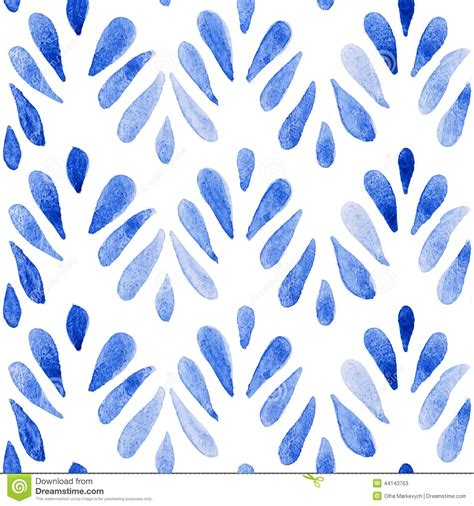 watercolor pattern vector seamless watercolor pattern stock vector image 44143763