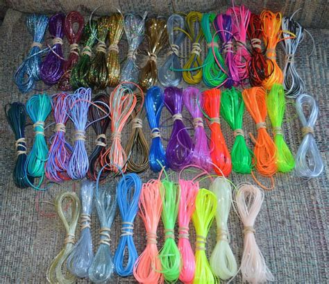specialty colors lot rexlace plastic lace boondoggle gimp lanyard lacing ebay