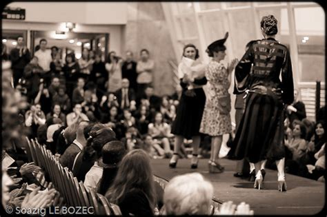 vintage fashion show runway pictures by soazig le bozec