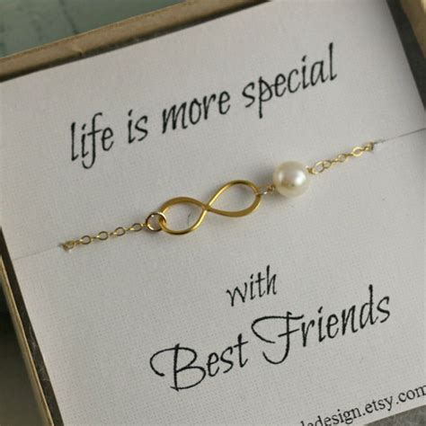 items similar to best friends bracelet infinity bracelet