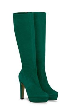 Duo Suede Color Rotelli Boots on my color green boots boots and