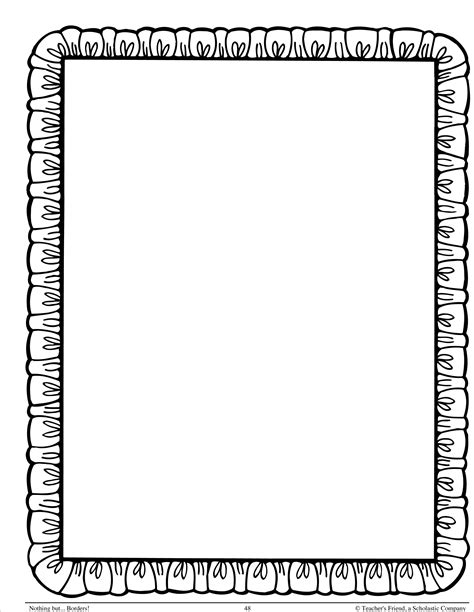 How To Make Paper Borders - images of page borders clipart best