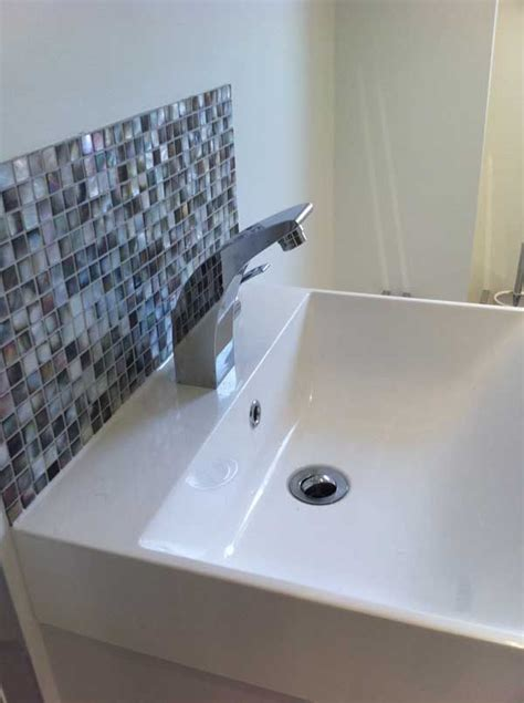 bathroom splashback ideas 1000 ideas about bathroom splashback on splashback tiles tiling and splashback ideas
